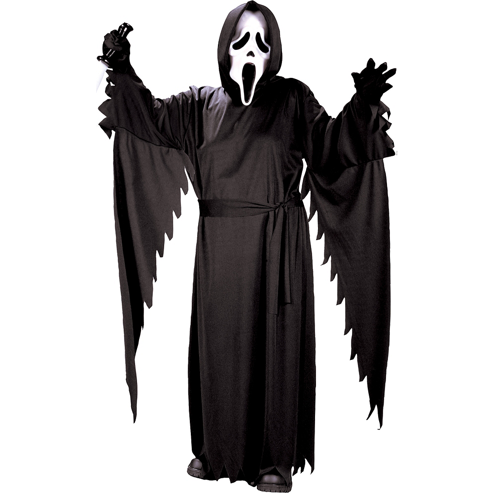 Teen Boys Ghost Face Costume - Scream Image #1