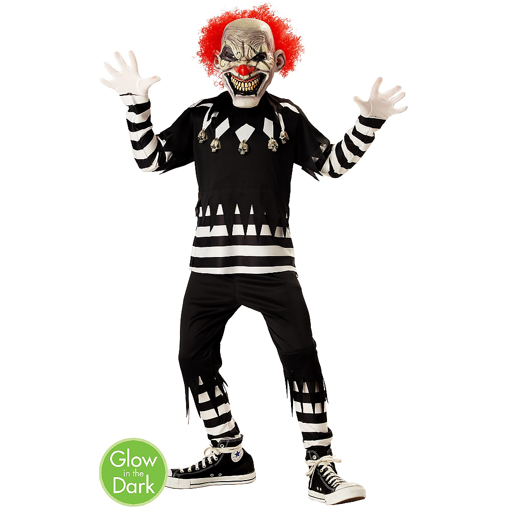 Boys Creepy Clown Costume Party City