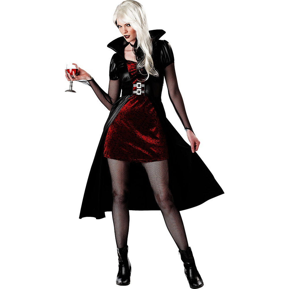 Adult Blood Thirsty Beauty Vampire Costume Image #1
