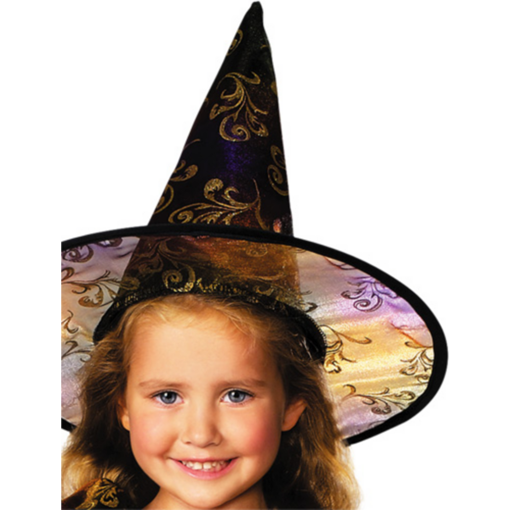 Girls Elegant Witch Costume Image #2