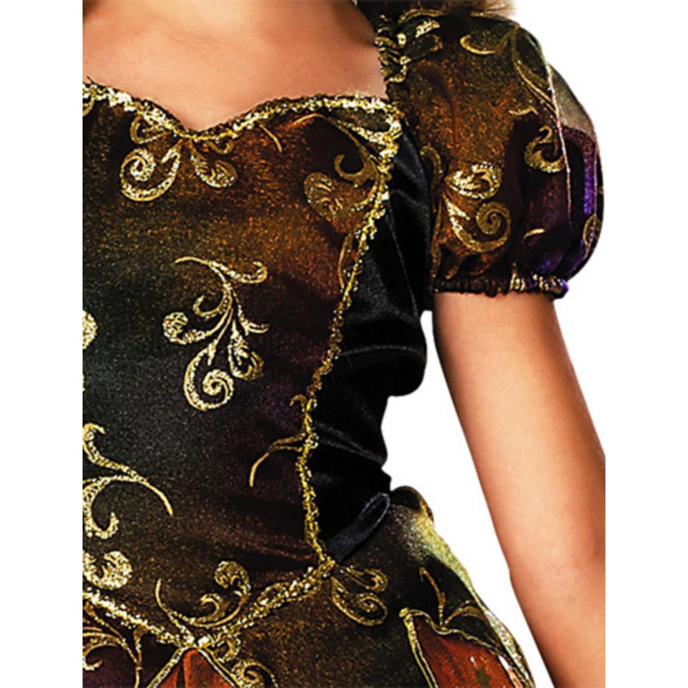 Girls Elegant Witch Costume Image #3