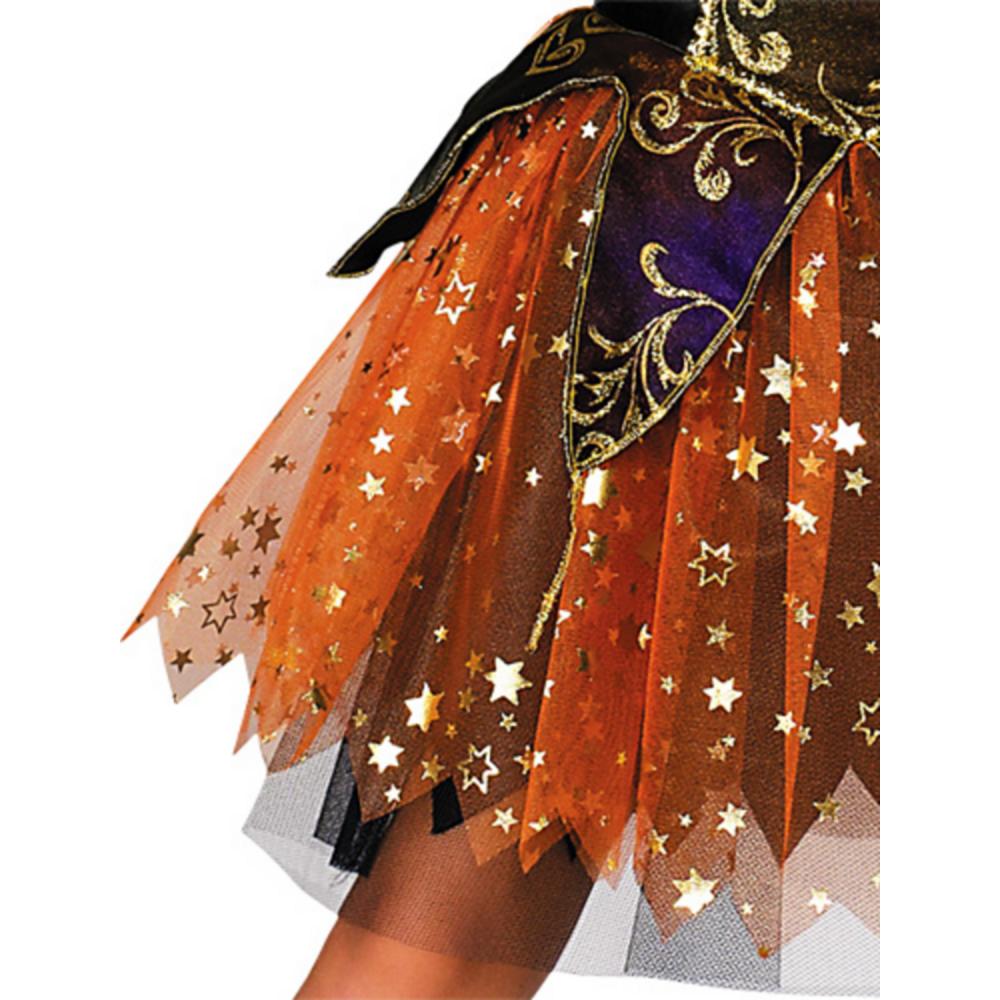 Girls Elegant Witch Costume Image #4