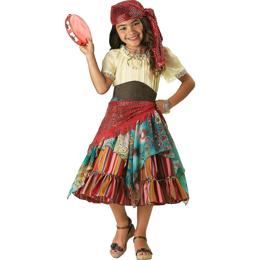 Girls Fortune Teller Costume Elite Image #1