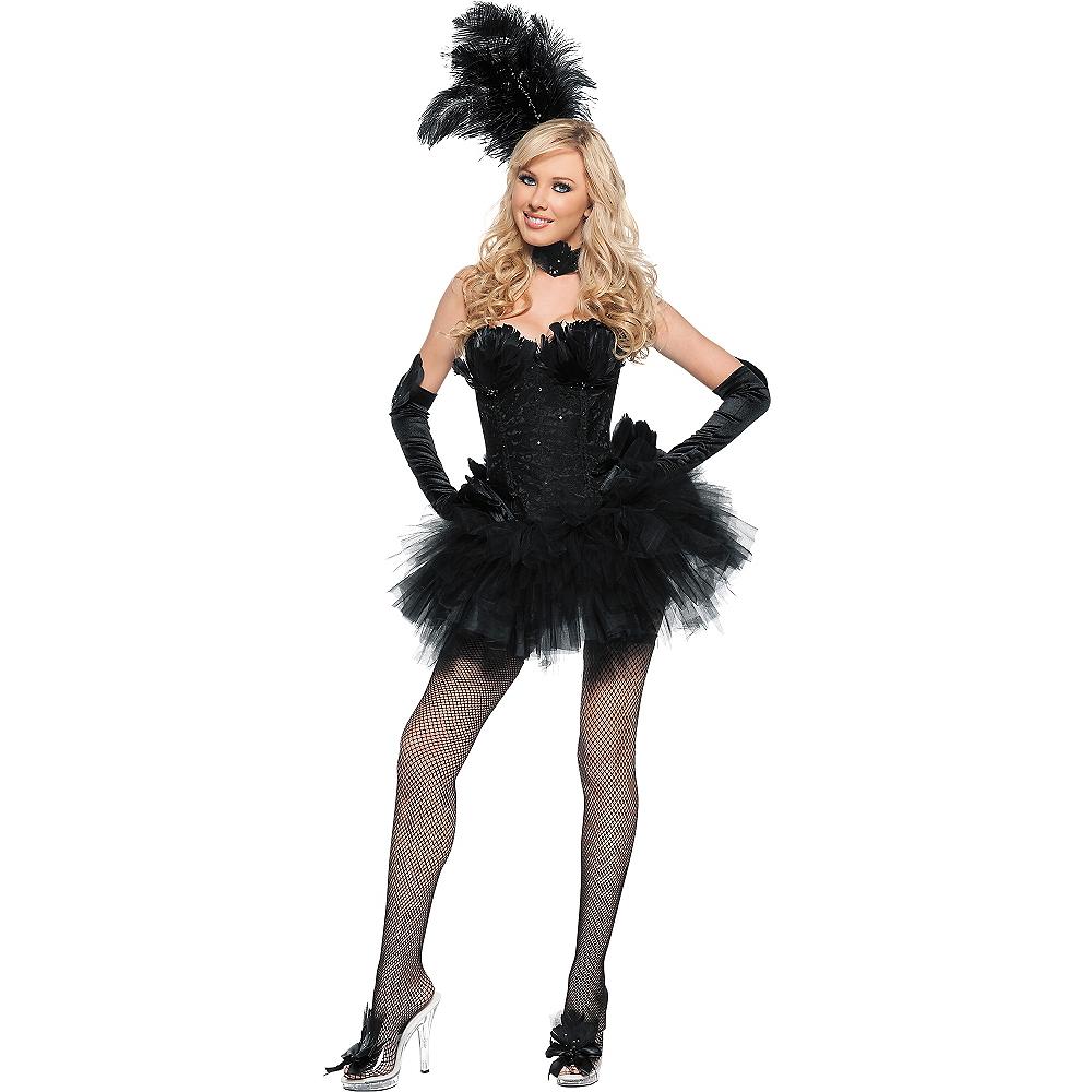Adult Black Swan Costume Image #1
