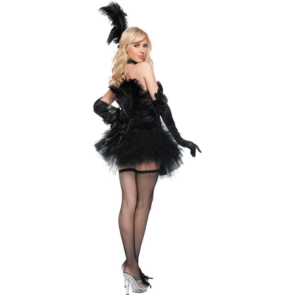 Adult Black Swan Costume Image #2