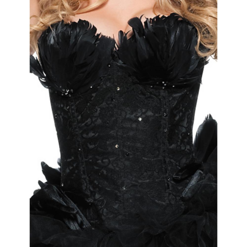 Adult Black Swan Costume Image #4