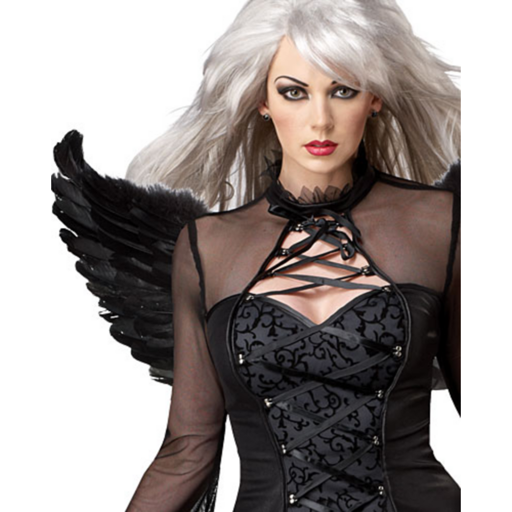 Adult Fallen Angel Costume Image #3