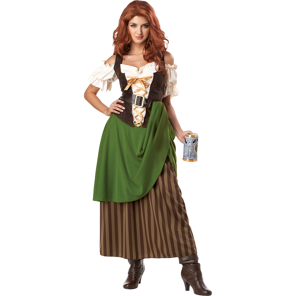 Adult Tavern Maiden Costume Image #1