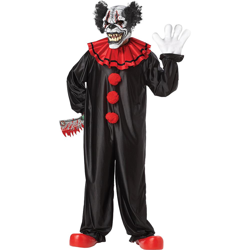 Adult Last Laugh Evil Clown Costume Image #1