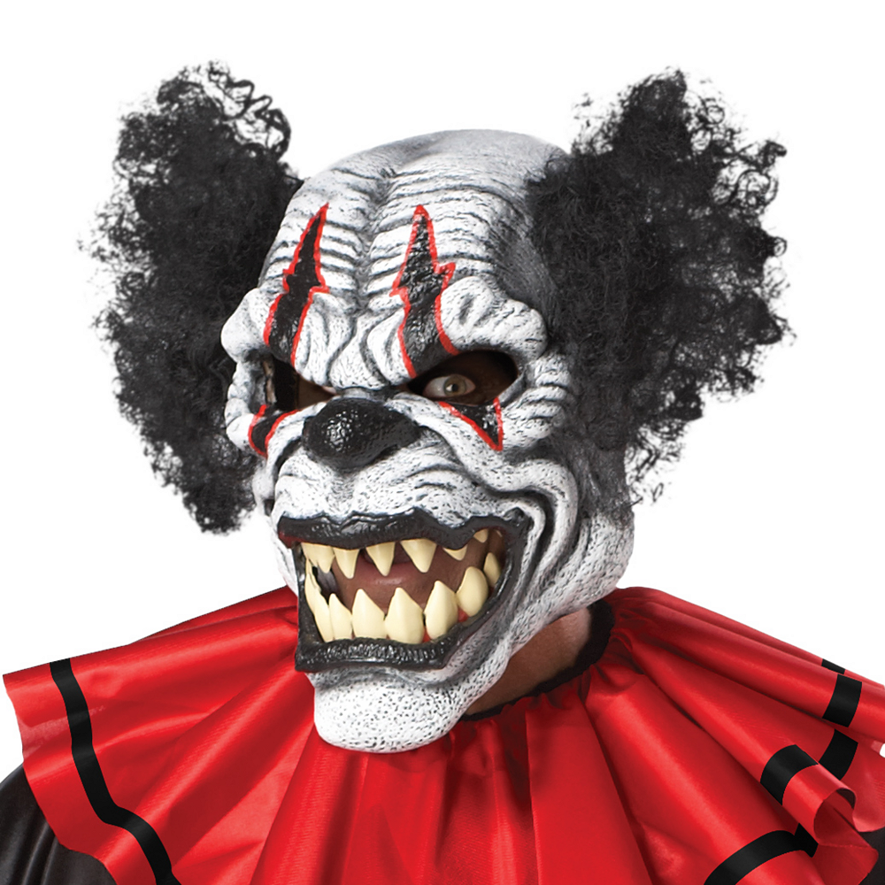 Adult Last Laugh Evil Clown Costume Image #2