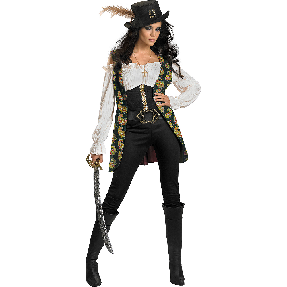 adult angelica costume deluxe pirates of the caribbean