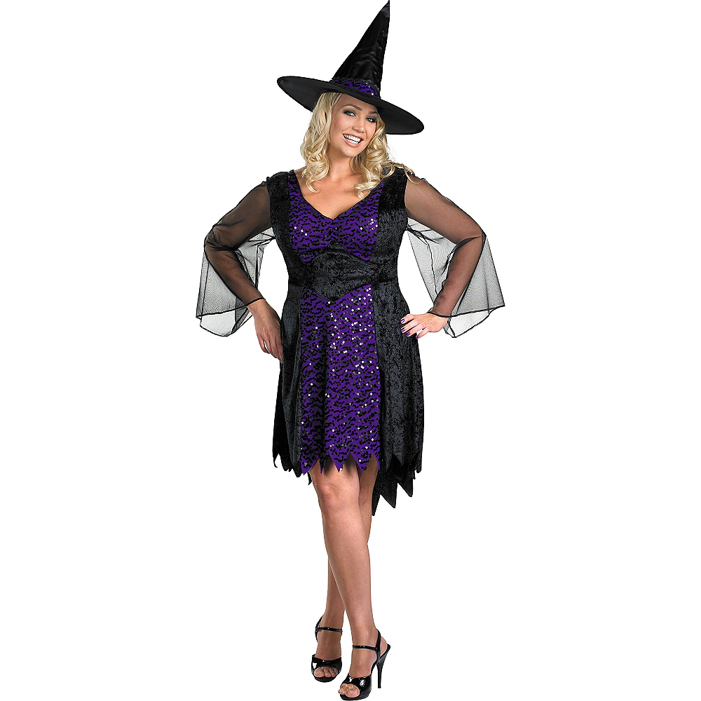 Adult Brilliantly Bewitched Costume Plus Size Image #1