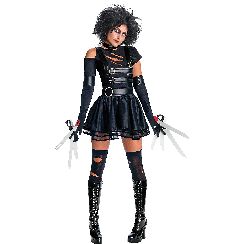 Adult Miss Scissorhands Costume - Edward Scissorhands Image #1