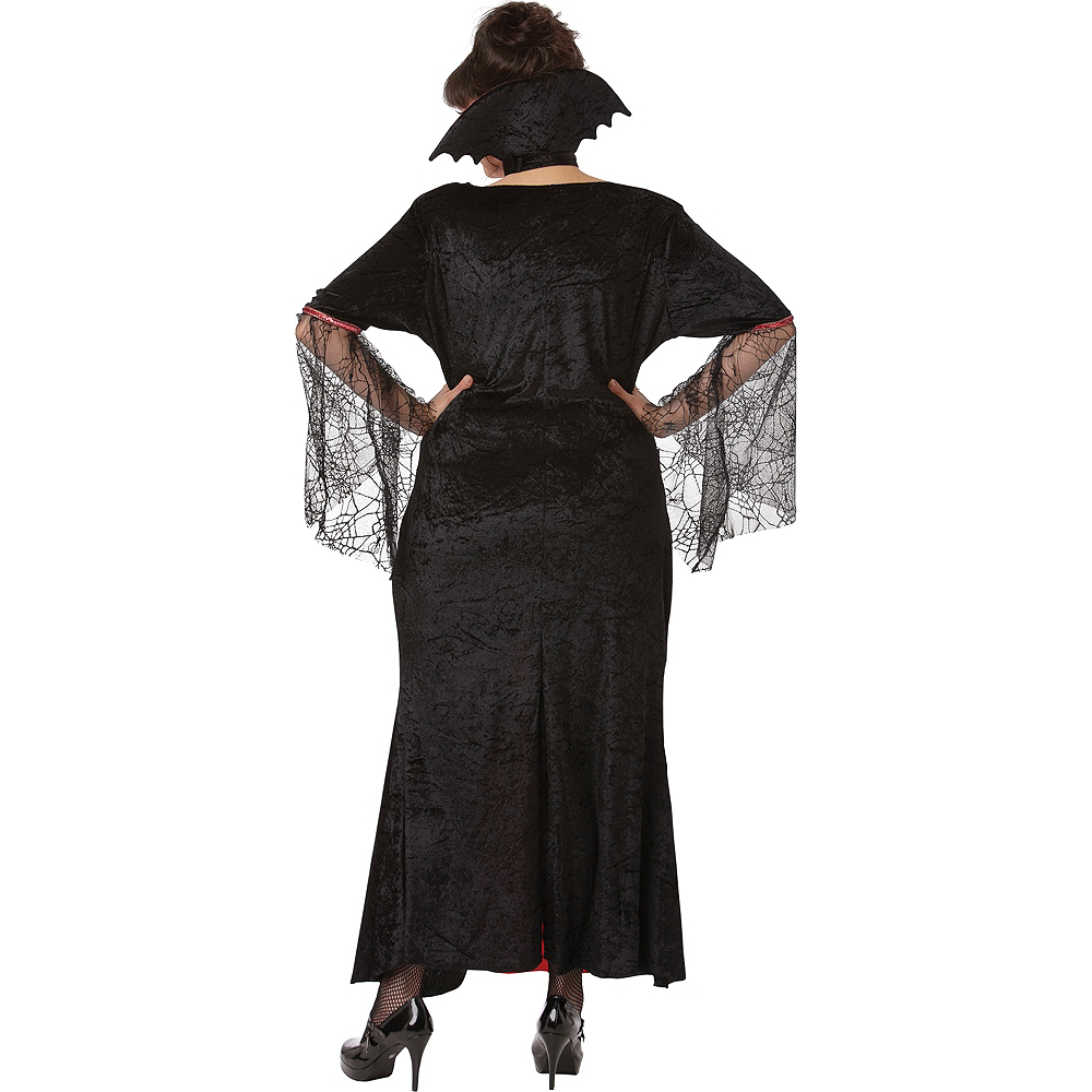 Adult Countess Vampiretta Vampire Costume Plus Size Image #2