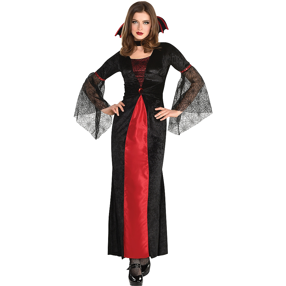 Adult Countess Vampiretta Vampire Costume Image #1