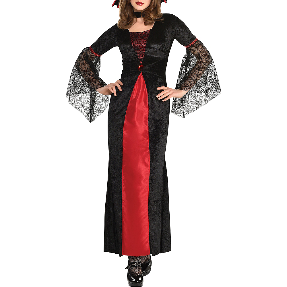 Adult Countess Vampiretta Vampire Costume Image #4