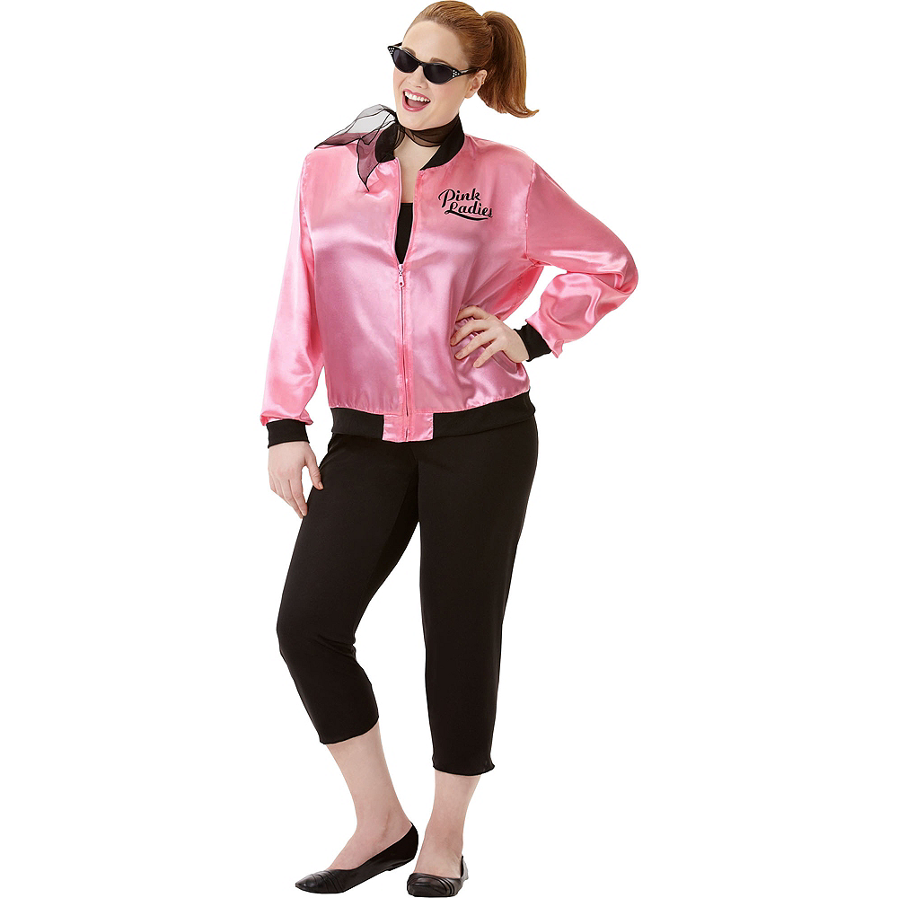 Adult Greaser Babe Costume Plus Size Image #1