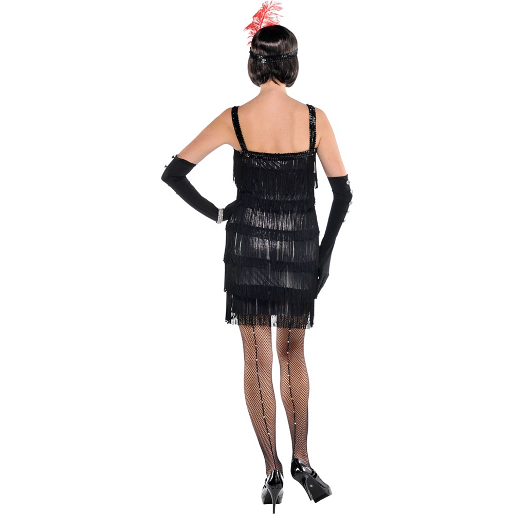 Adult Flashy Flapper Costume Image #3