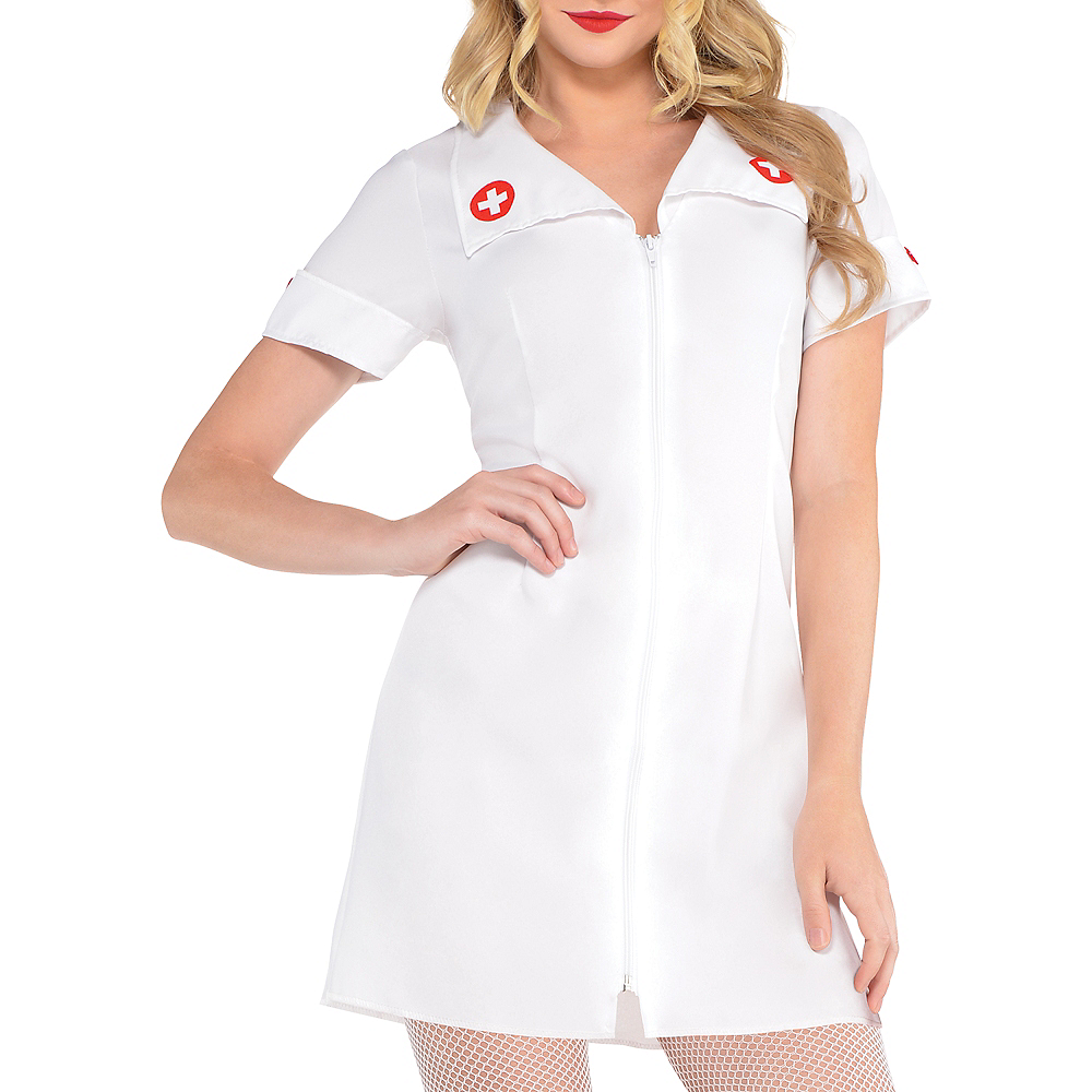 Adult Hospital Honey Nurse Costume Image #3