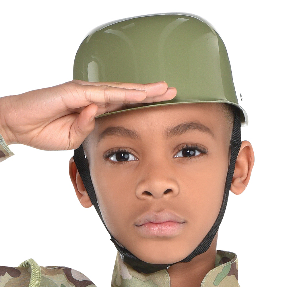 Boys Combat Soldier Costume Image #2