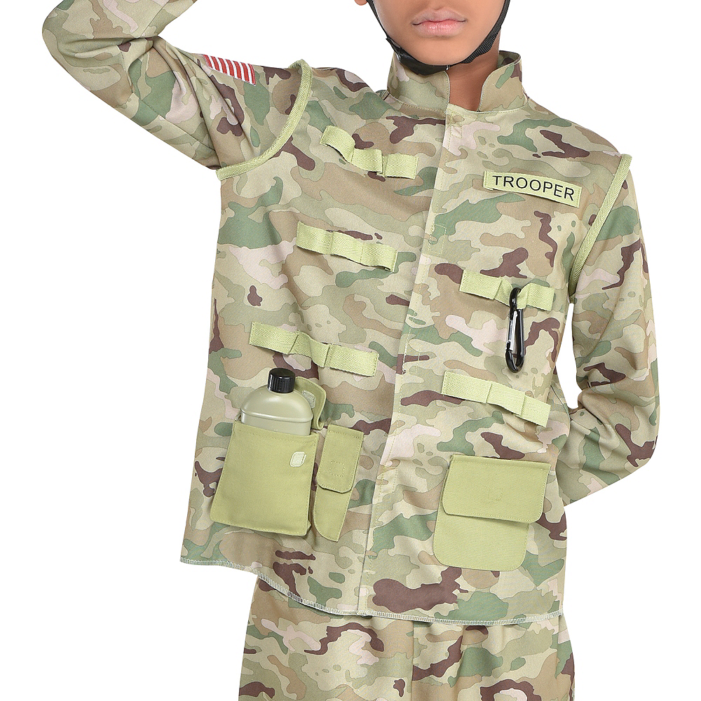 Boys Combat Soldier Costume Image #3