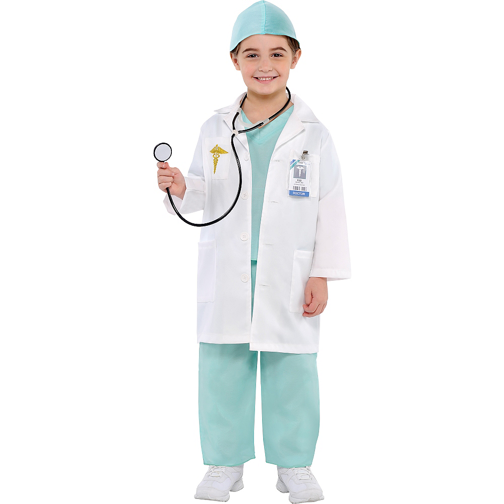 99e4a20781a Nav Item for Toddler Boys Doctor Costume Image #1 ...