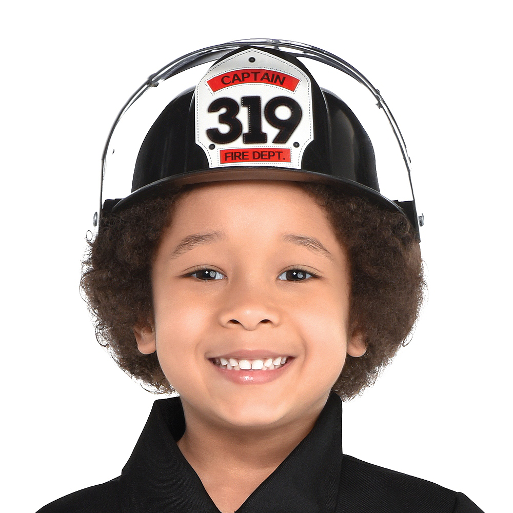 Boys Reflective Firefighter Costume Image #2
