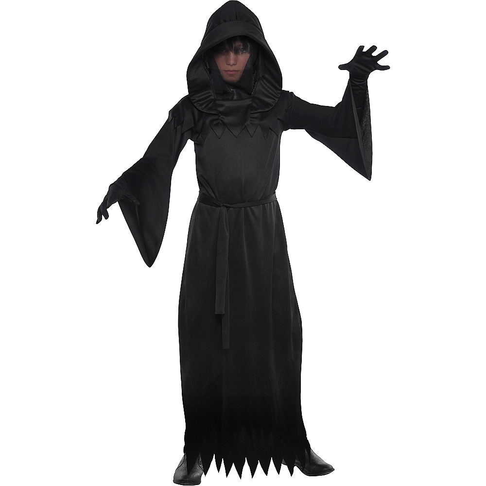 Nav Item for Boys Phantom of Darkness Costume Image #1
