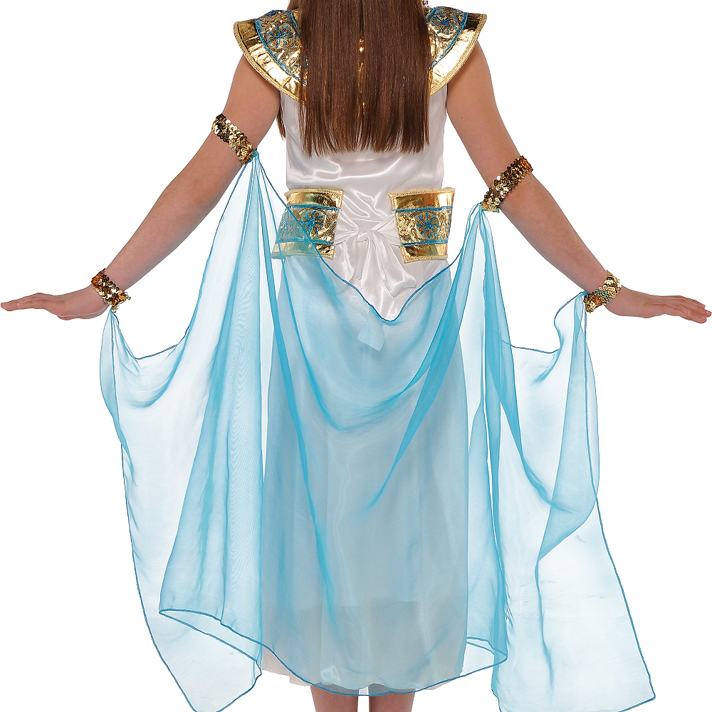 Nav Item for Girls Shimmer Cleopatra Costume Image #3
