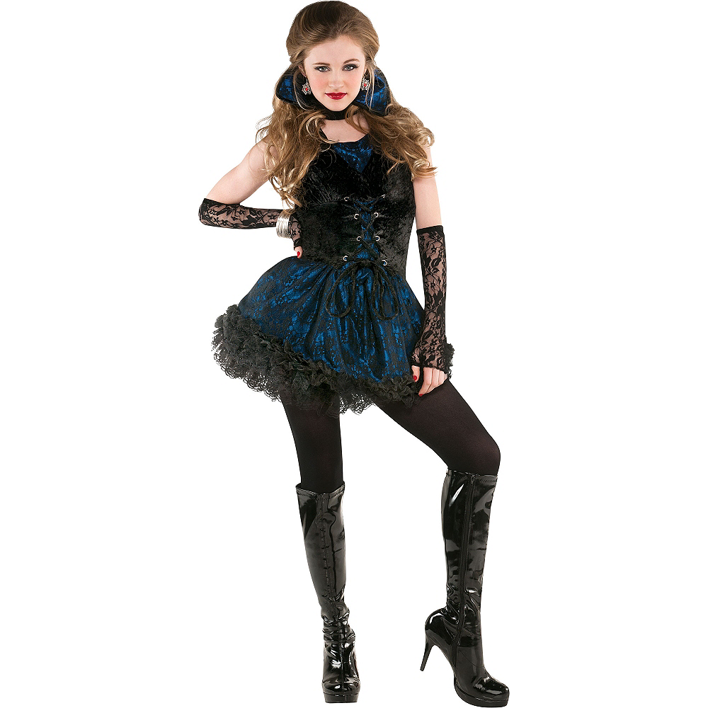 Nav Item for Adult Midnight Vampire Costume Image #1