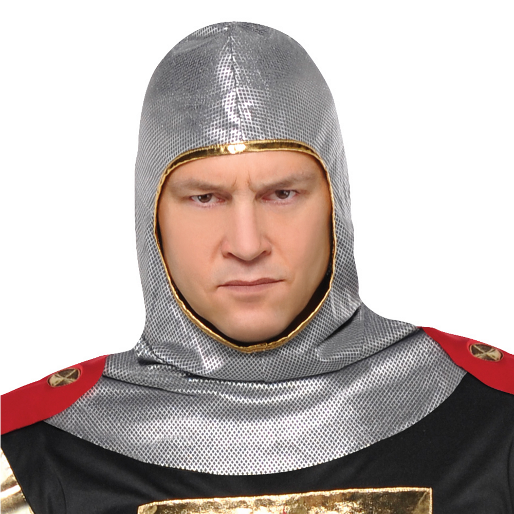 Nav Item for Adult Brave Crusader Knight Costume Plus Size Image #2
