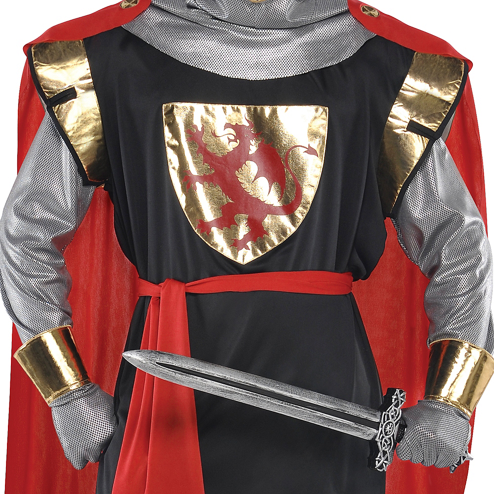 Adult Brave Crusader Knight Costume Image #3