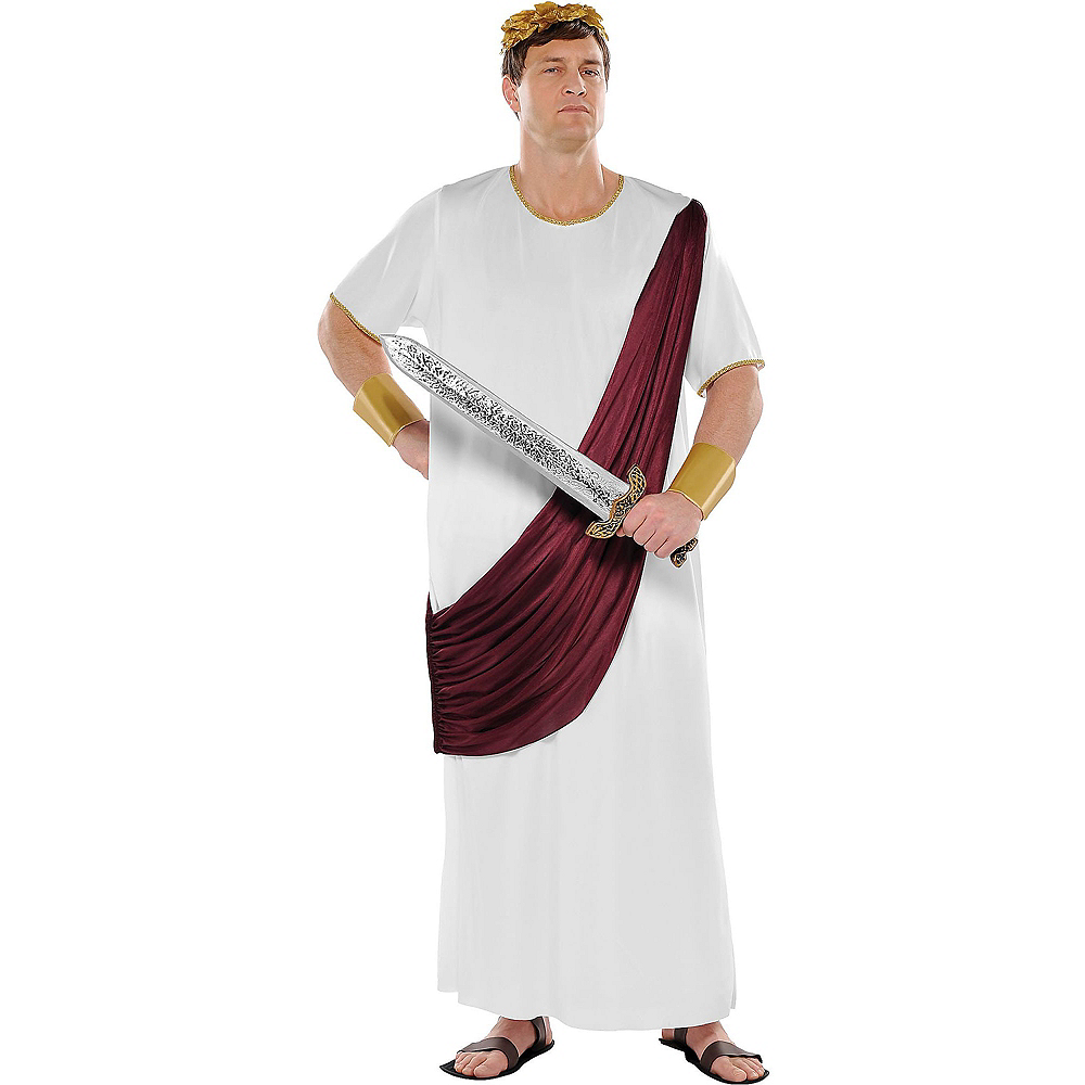 Nav Item for Adult Augustus Caesar Costume Plus Size Image #1