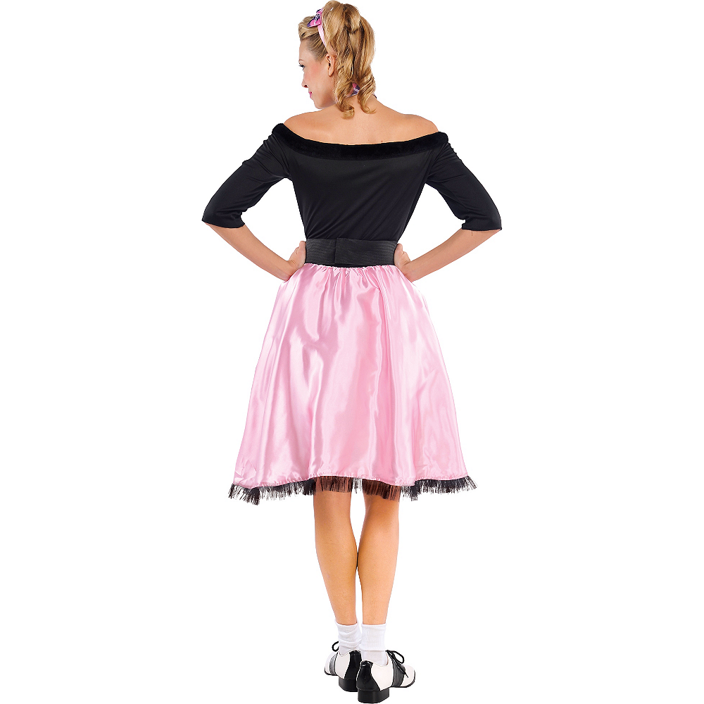 Adult Sock Hop Sweetie '50s Costume Image #2
