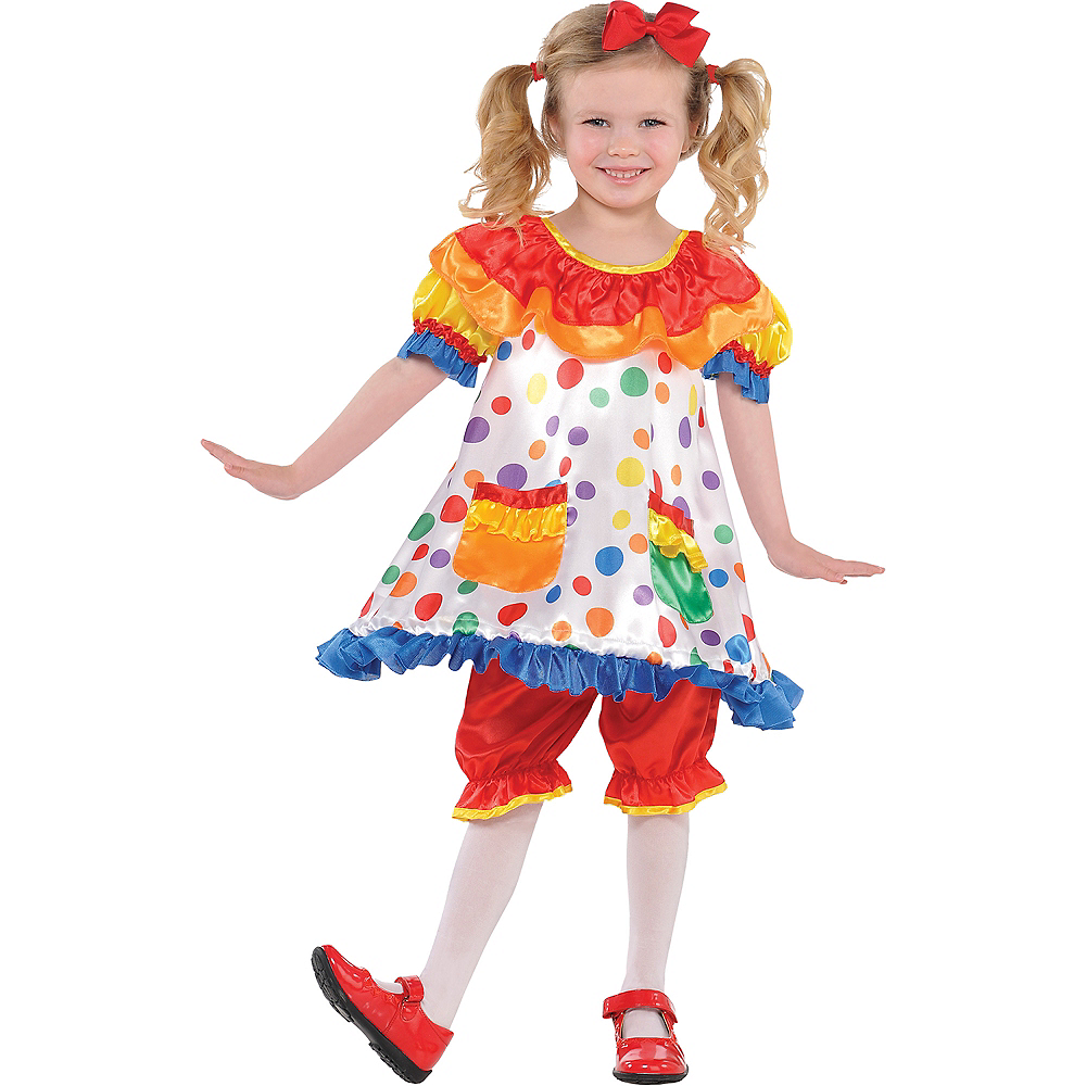 Adults Size Children in Need Polka Dot Clown Bloomers Funny Dress-Up CIN