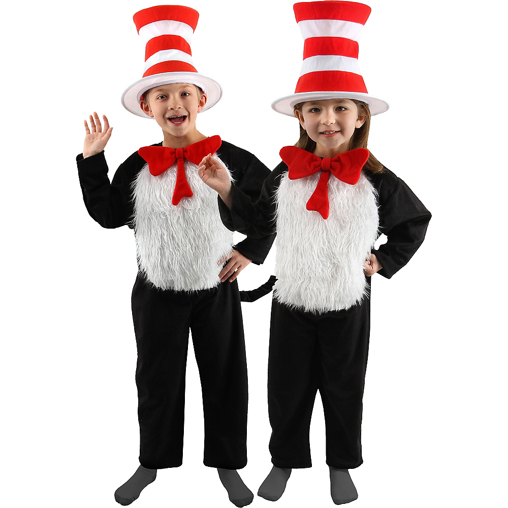 Nav Item for Child Cat in the Hat Costume Deluxe - Dr. Seuss Image #1