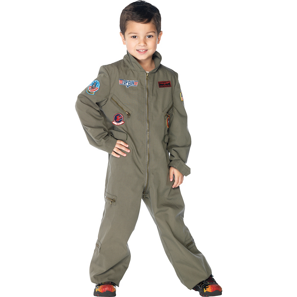 Nav Item for Boys Flight Suit Costume - Top Gun Image #1