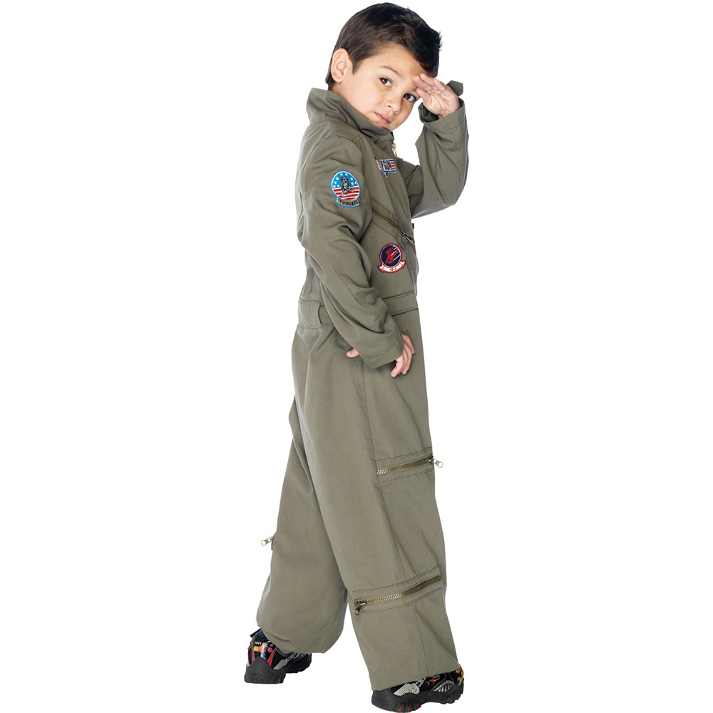 Boys Flight Suit Costume - Top Gun Image #2
