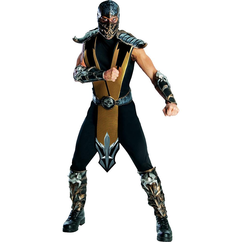adult scorpion costumes mortal kombat