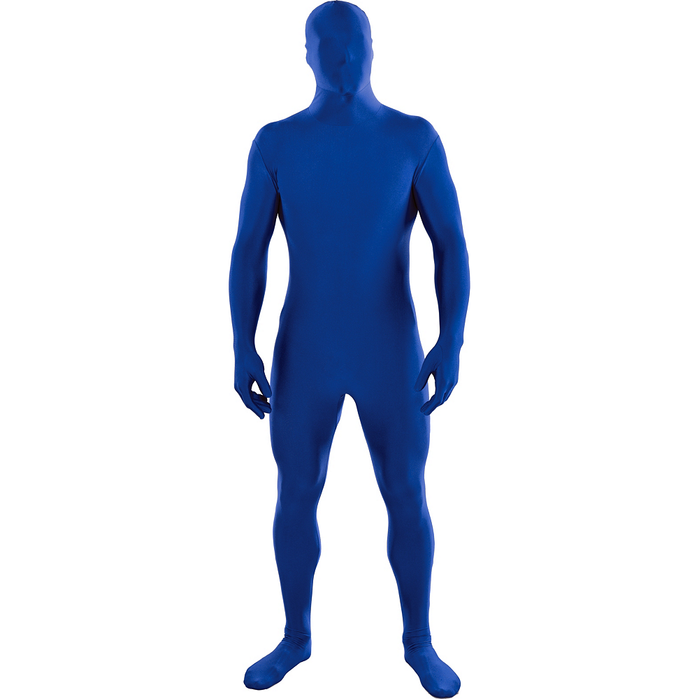 Nav Item for Adult Blue Partysuit Image #1