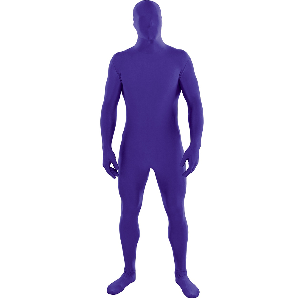 Adult Purple Partysuit Image #1