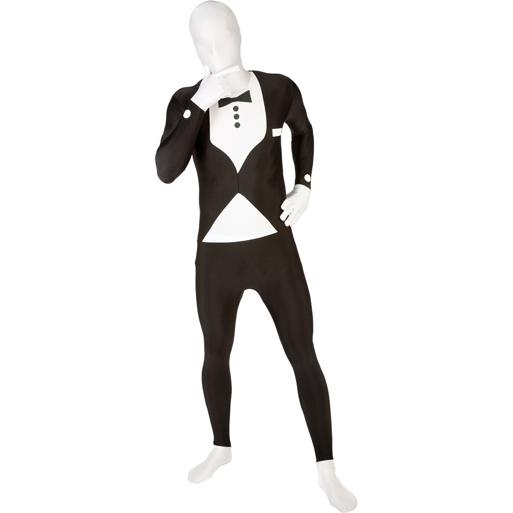 Nav Item for Adult Tuxedo Morphsuit Image #1