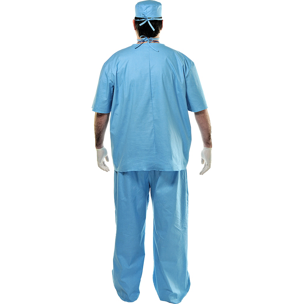 Adult Doctor Costume Plus Size Image #2