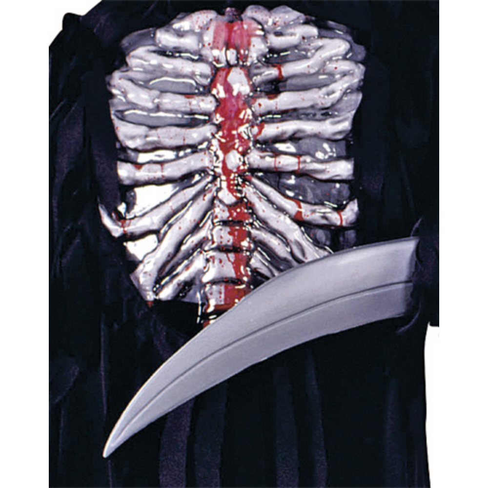 Boys Bleeding Skeleton Costume Image #3