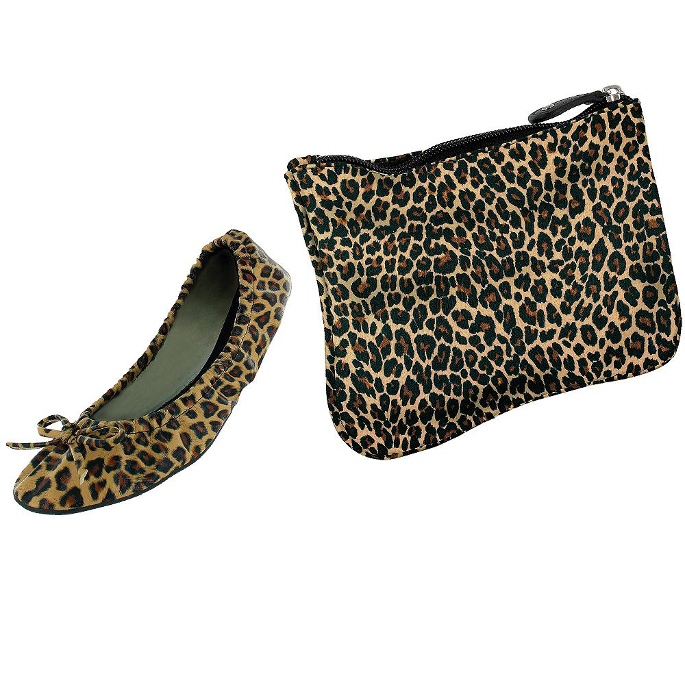 Sidekicks Leopard Travel Ballet Flats Image #1