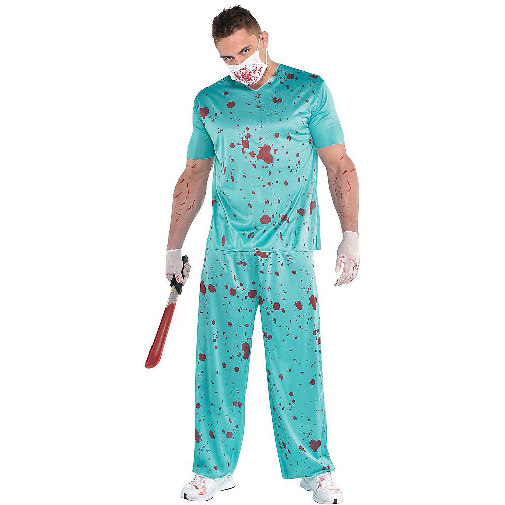 Nav Item for Adult Bloody Scrubs Image #1