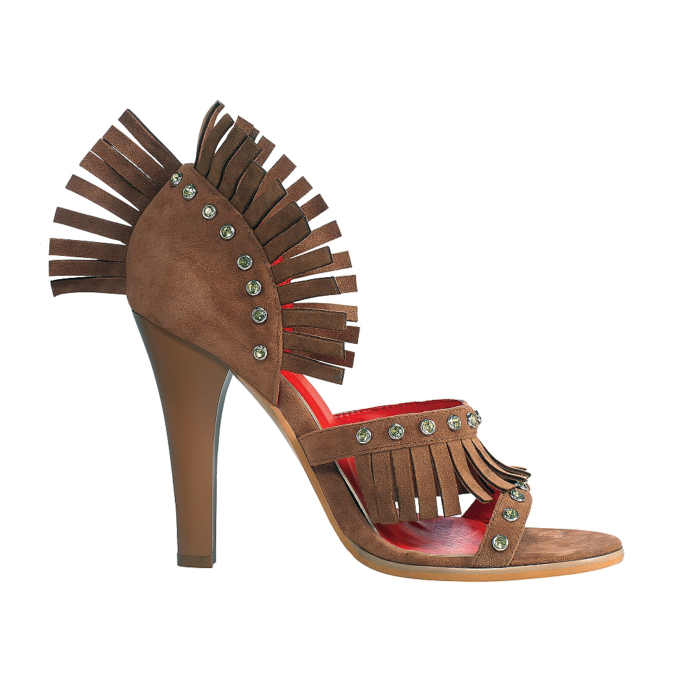 Nav Item for Fringed Western Shoes Image #1
