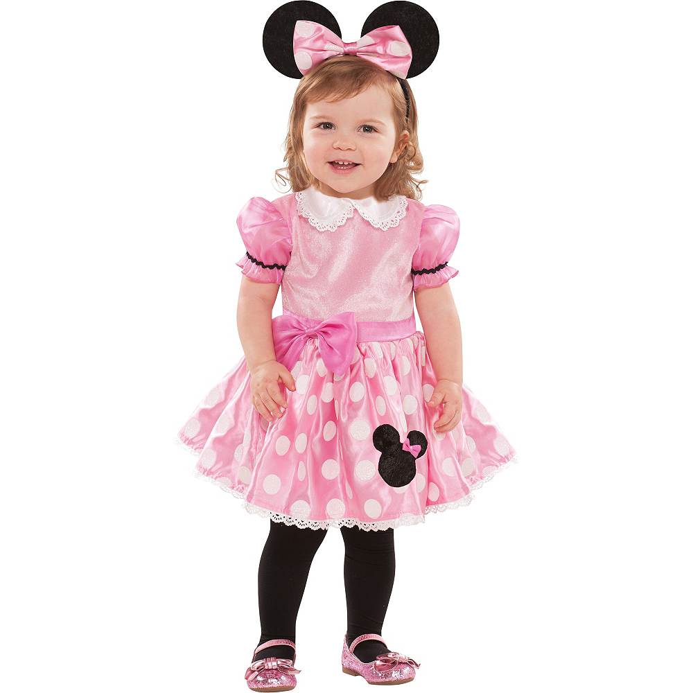 b5762a266 Baby Pink Minnie Mouse Costume Image #1 ...
