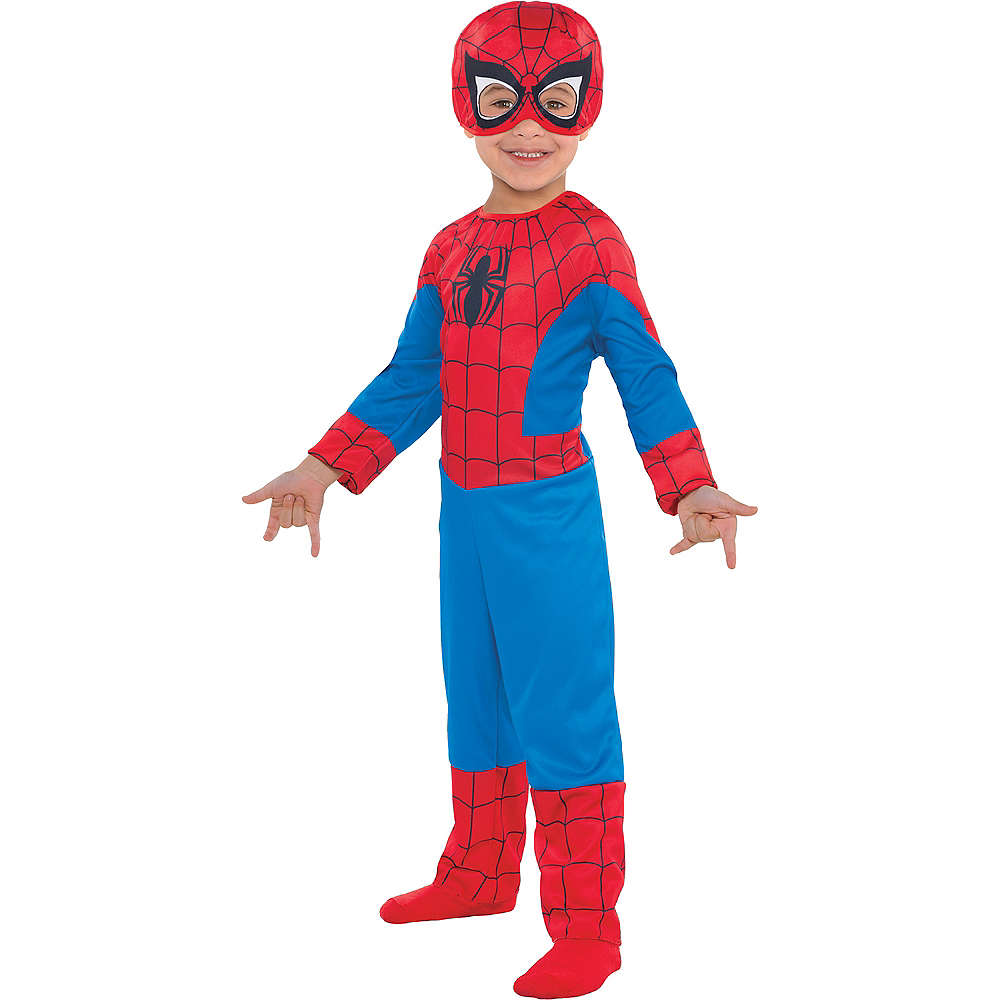 Toddler Boys Classic Spider-Man Costume Image #1