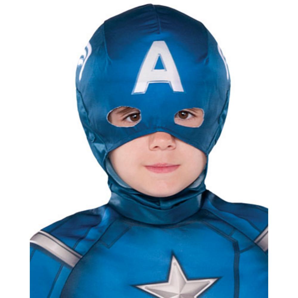 Boys Captain America Classic Costume Image #2